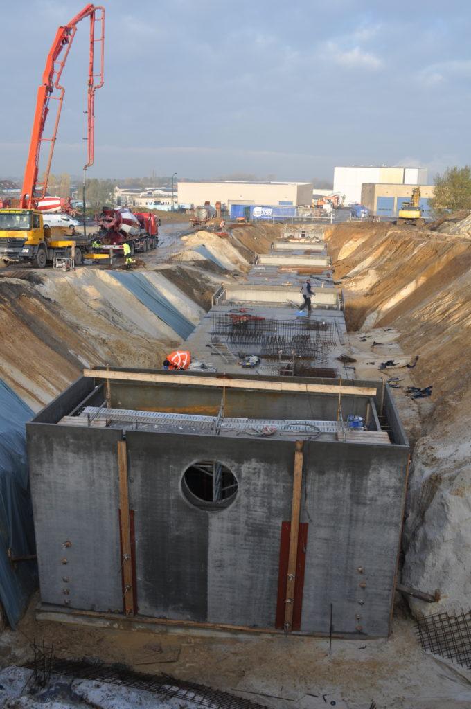 Infrastructure - Réseaux eau, gaz, électricité